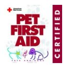 pet first aid certified